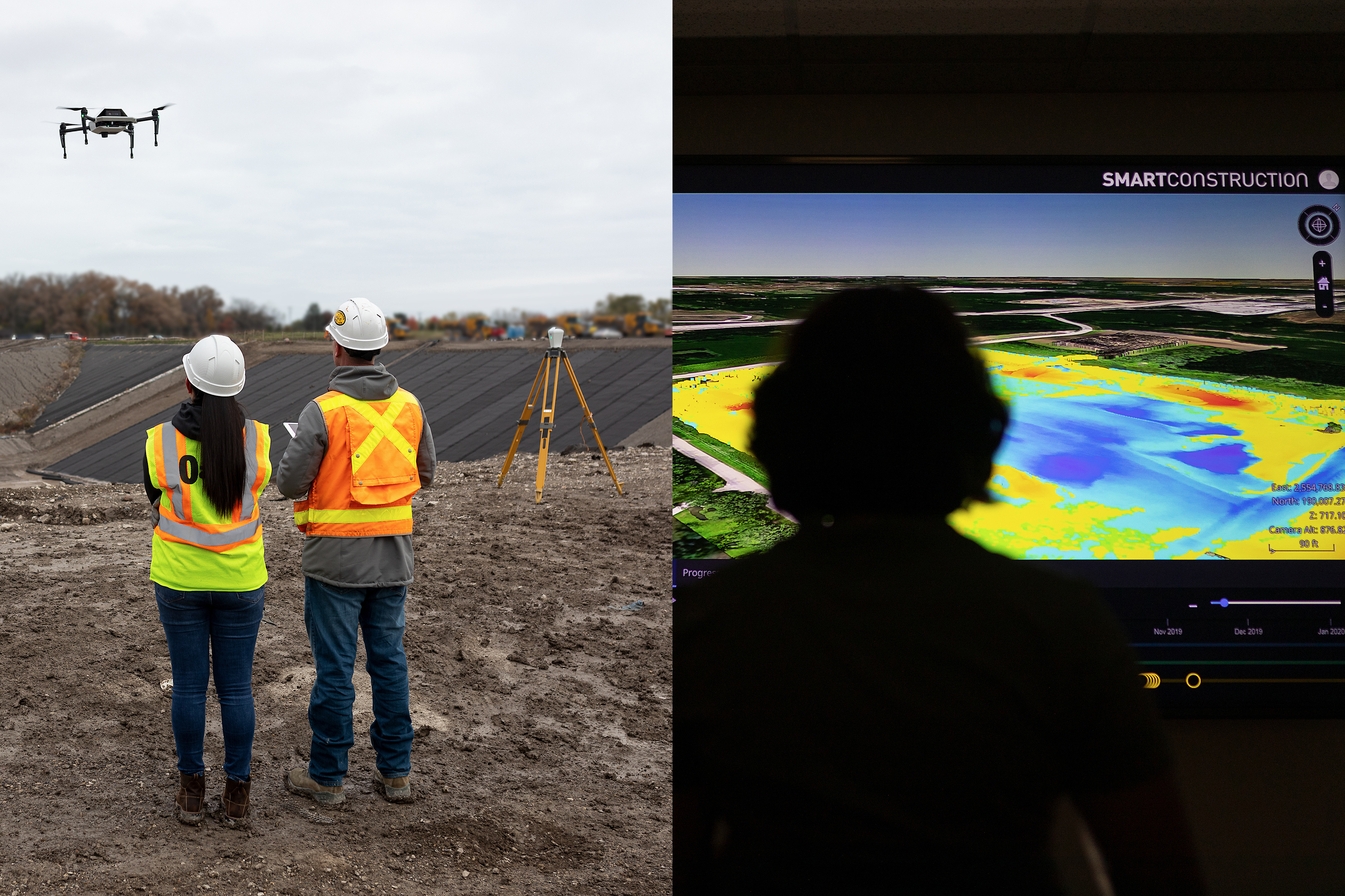 Easily visualize your drone data at the office